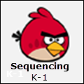 Sequencing Angry Birds K-1